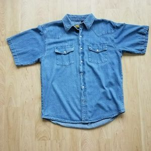 Other - Sandy River Jeans Company Denim Button Up